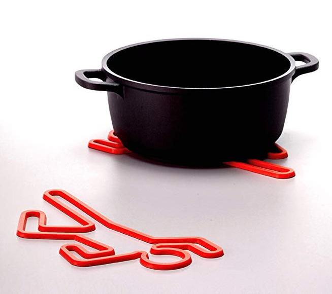 Crime Scene Silicone Hot Pot Trivet