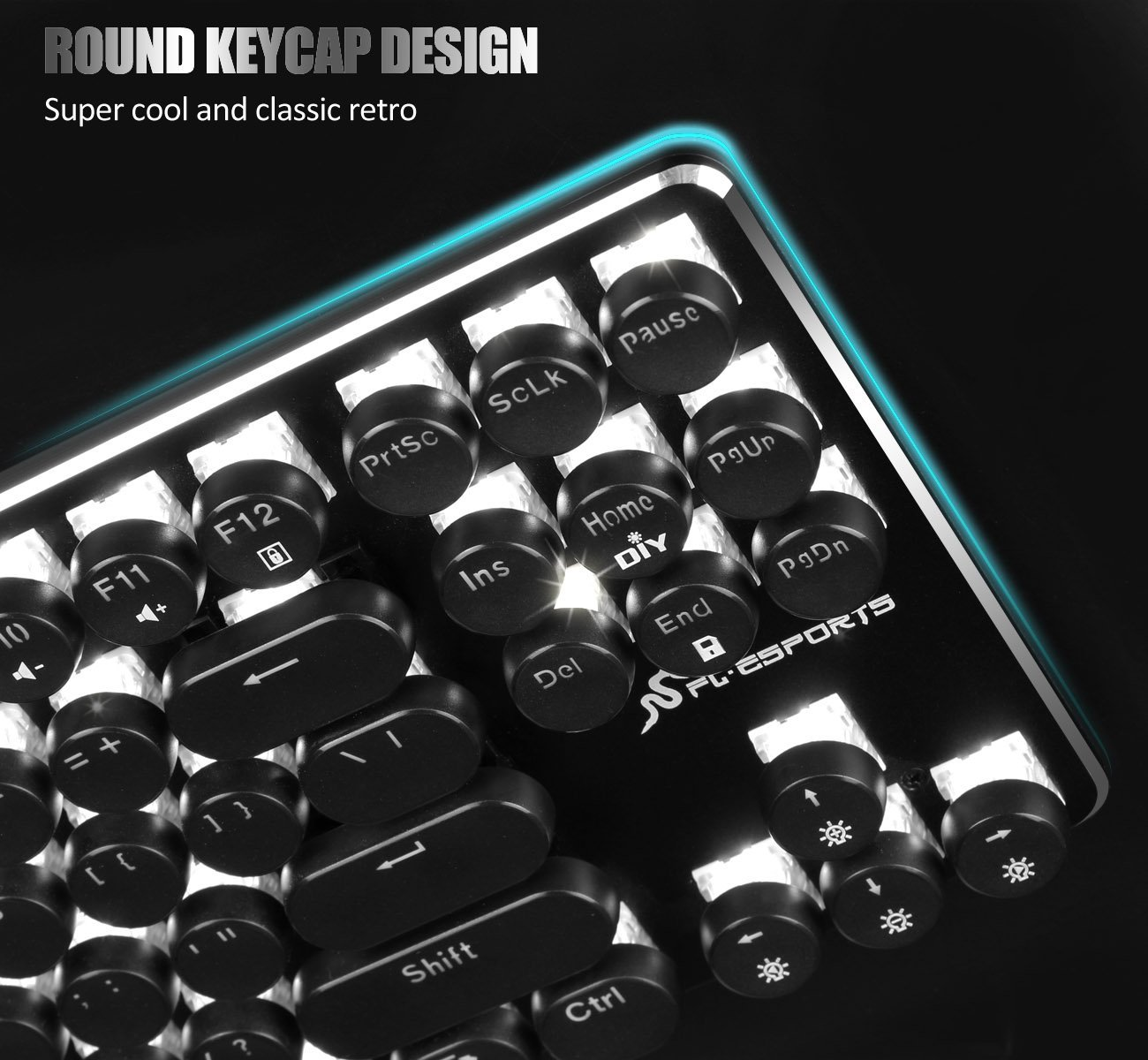 Typewriter Keyboard for PC and Mac - Celestes Toys and Gifts