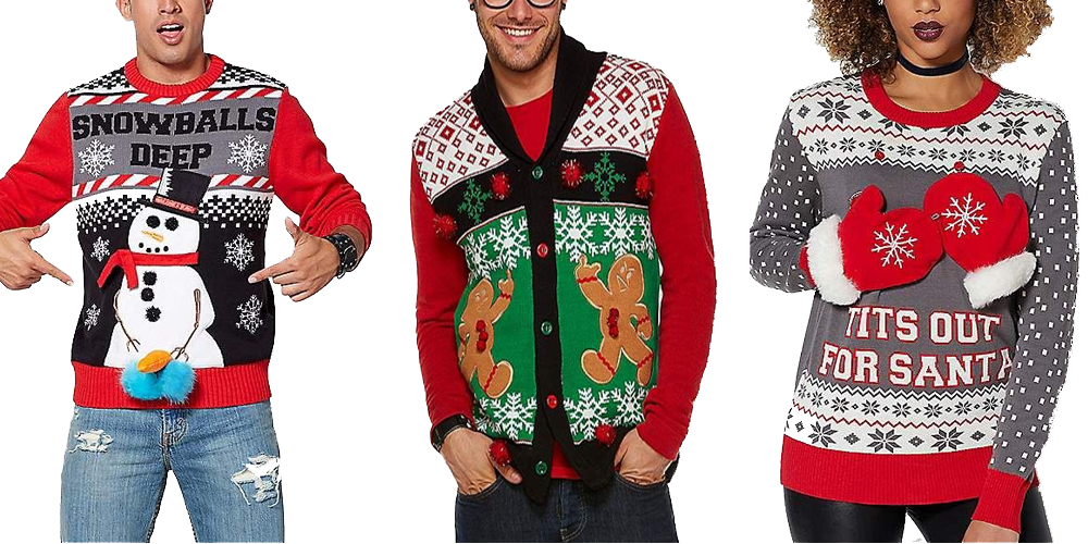 2 Person Christmas Sweater.Funny Ugly Christmas Sweaters Celestes Toys And Gifts